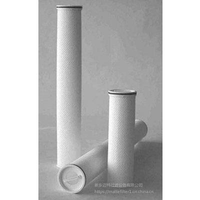 保安过滤器大流量水滤芯XLDM3-40U-HFJ 滤芯生产商
