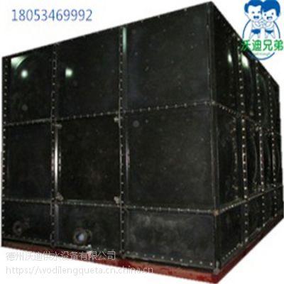 德州沃迪搪瓷钢板保温水箱生活消防水箱搪瓷储水箱