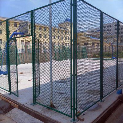 体育场建设围网_镀锌丝球场网栏_铁丝网包塑护栏
