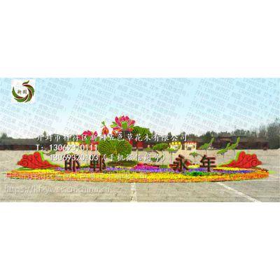 新园五色草观叶立体造型-新春造型