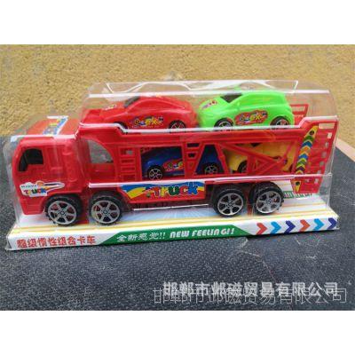 双层彩色警车 全场五元热卖儿童玩具 庙会地摊夜市热卖儿童玩具
