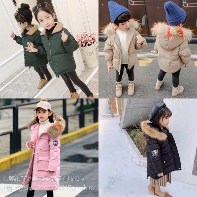 韩国南大门童装批发攻略厂家直销货到付款网洋气质量又好潮牌中性儿童面包服棉服批发