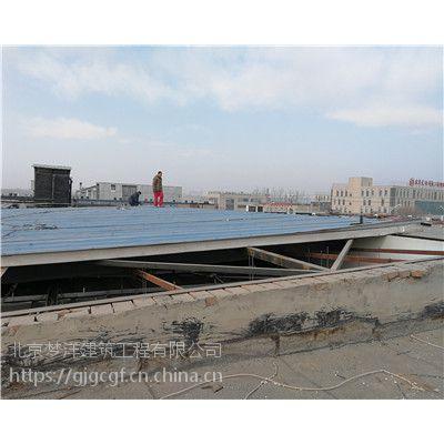 通州区彩钢板房制作彩钢顶换板施工