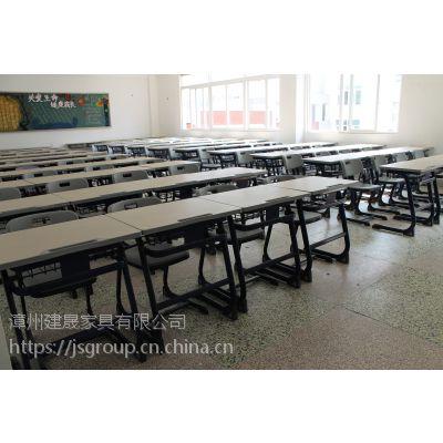 学校课桌椅HY-0235低价课桌椅供应商