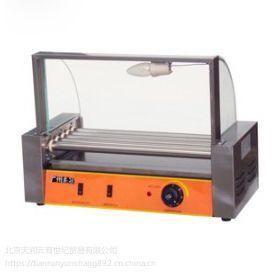 杰冠滚筒式烤香肠机EH-205 五辊烤肠机 火腿肠烤炉