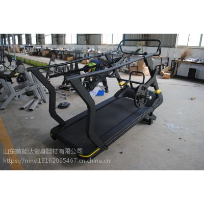 2018年新款无动力跑步机_带配重无动力跑步机美能达健身器材厂家直销
