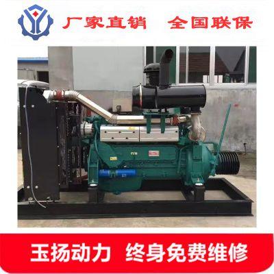 韶关6126ZLP六缸柴油机 配潍柴340马力木片粉碎机专用柴油发动机