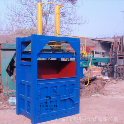 安徽30吨液压打包机自动翻包立式废纸箱易拉罐打包机可定做尺寸