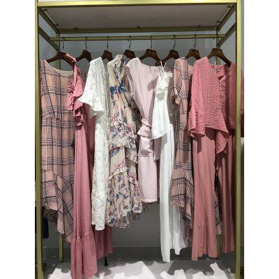 名歌尾货市场女装批发折扣女装 货源品牌服装尾货