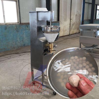 土豆泥丸子机 肉丸子机器报价多少钱