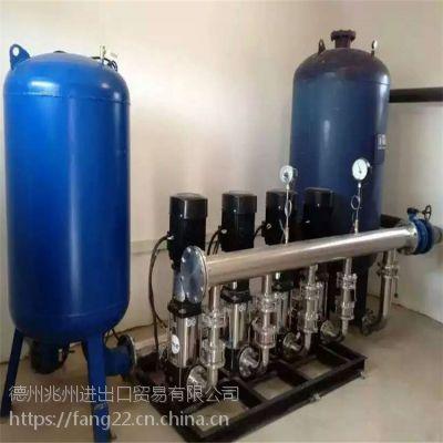 兆州 定压补水装置 小区专业自动生活给水设备 批发