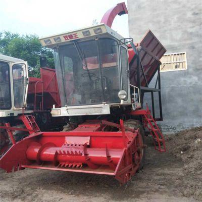 菏泽大型玉米秸秆青储收割机 旋转360°喷料口青储机 皇竹草收割机