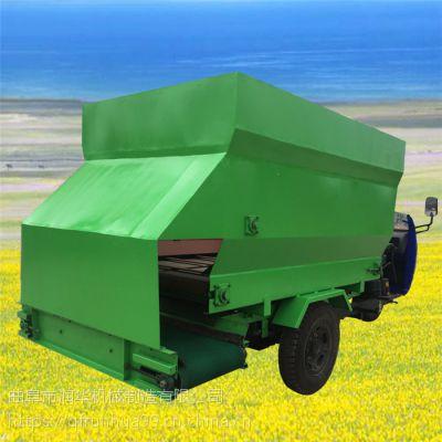 低油耗柴油喂料机 肉牛养殖投料机 环保低碳电动撒草车