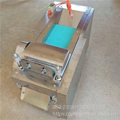 带机头榨菜切丝机 辣疙瘩土豆切片机 启航酸菜切丝机价格