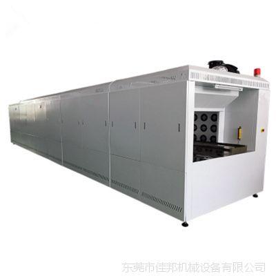 东莞佳邦专业定做大型隧道炉烘干线 高温烘道 玻璃盖板固化干燥流水线