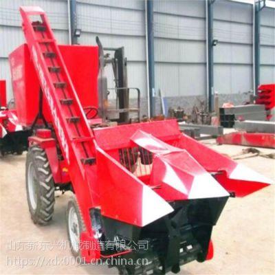 四轮拖拉机带玉米收获机 大型玉米扒皮收获机