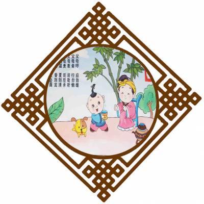 商丘幼儿园环创墙饰吊挂国学壁画生产厂家
