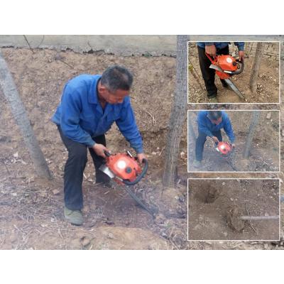 多马力的大树移植机 小树苗铲头起树机 梧桐树挖树机