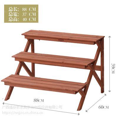 多型镂栅层庭架 北海盆栽饰物架 南宁简约实木家具