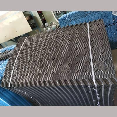 800*1200填料图片 方型横流塔填料 双一PVC淋水片 河北华强