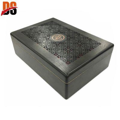 DS 木制镂空雪茄盒