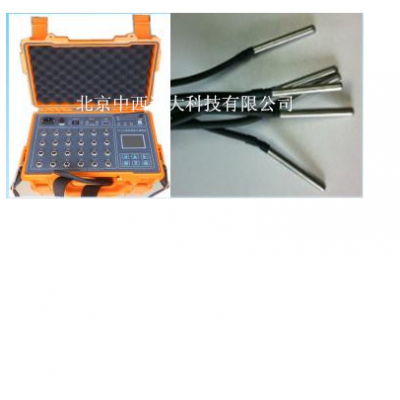 中西 智能温度检测仪/大体积混凝土测温仪 型号:ZXYD/TD-3库号:M372731