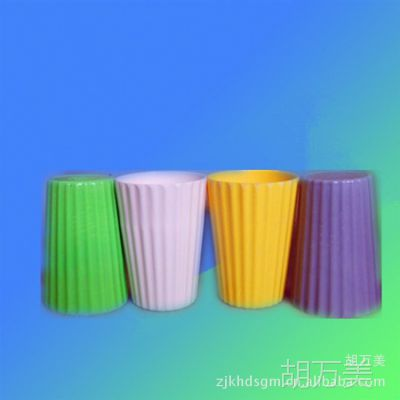 餐具厂家供应密胺美耐皿 彩色单杯  牛奶杯 漱口杯