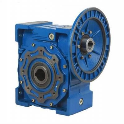 沃旗FCNDK30-20-63B14蜗轮蜗杆减速机电机 铝合金方箱减速器