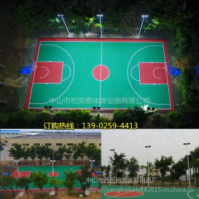 室外标准篮球场led灯光设置 三亚6米路灯杆哪有卖 配球场LED投光灯