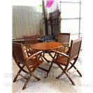 优质厂家定制户外实木桌椅组合木制家具 报价清单