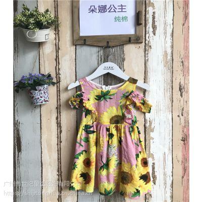 织里朵娜公主童装批发儿童连衣裙2019新款