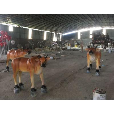 信宜玻璃钢动物雕塑厂家 定制户外各种动物雕塑制品