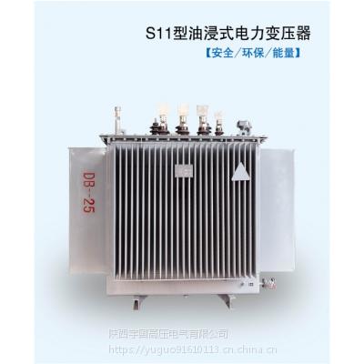 10KV三相S11-250KVA油浸式电力变压器200/800/1000/1250KW高压铜宇国