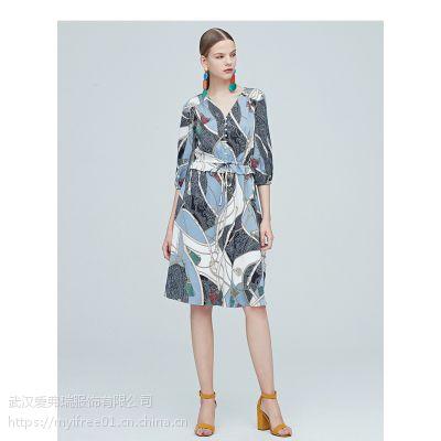 设计师款服装在哪拿货玛克莱莱小格子连衣裙