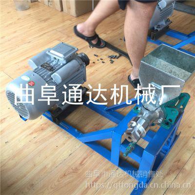 玉米7用暗仓江米棍机 五谷杂粮膨化机 香酥果机器 通达牌