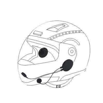 M8摩托车头盔蓝牙耳机 超大音量立体声摩托车骑行专用耳机
