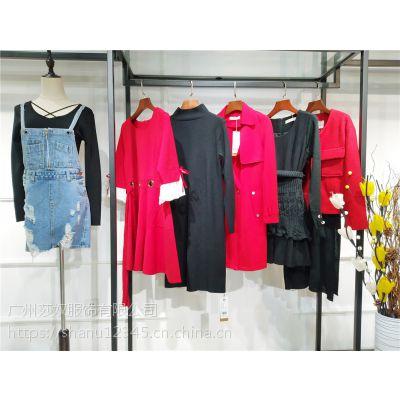 大码女装飞度春装时尚品牌折扣走份女装一手货源走份批发