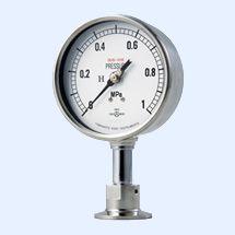 山本计器-0.1-0.4MPa压力计直径100 yamamoto keiki原装进口