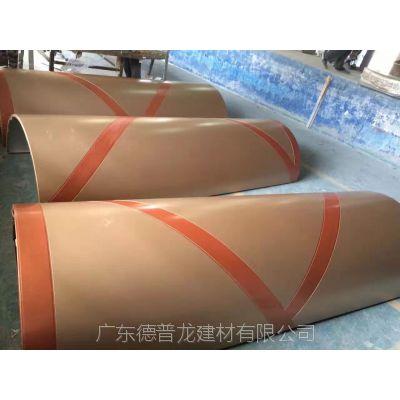 双色立柱铝单板_商场支撑柱双色铝板_包柱立体铝幕墙板【工艺说明】