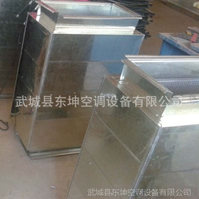 加工消声通风管道  镀锌钢板消声风管  阻性复合型消声器 中央 空