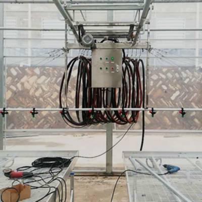 徐州温室自动施肥打药设备--移动喷灌机的安装指导