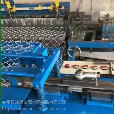 河北丝网机械 全自动单丝勾花网机 穿网机 弯边机 缩把机