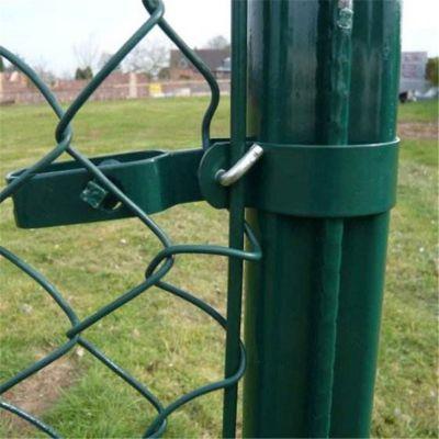 篮球场围网 体育场围网报价 勾花护栏加工