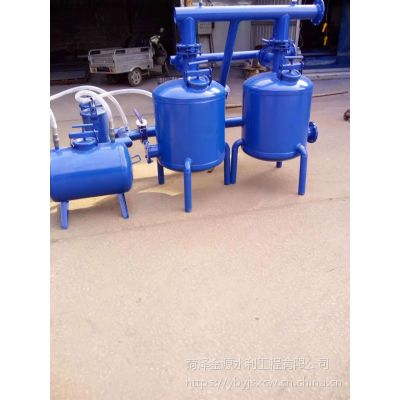 芜湖农业生产大棚微喷灌砂石网式过滤器施肥罐