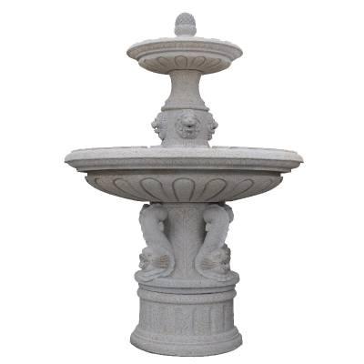 供应广场石雕喷泉 欧式大理石喷泉水钵 石雕风水球