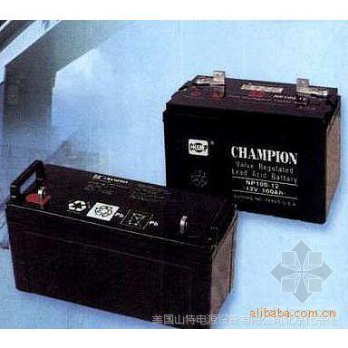 冠军蓄电池NP7-12