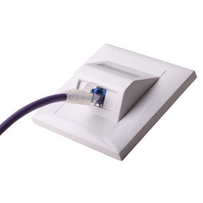 光纤面板-科兰CLAN-墙面和桌面安装-斜面面板-有亮面和亚光面2种材质