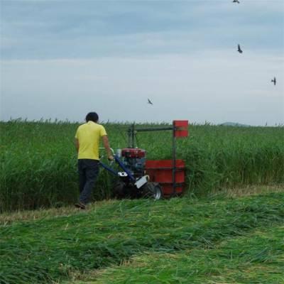 牧草手扶收割机 苜蓿草快速割晒机