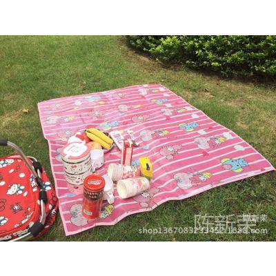 美乐迪可爱桌垫  kitty卡通桌布 melody卡通户外野餐垫大号