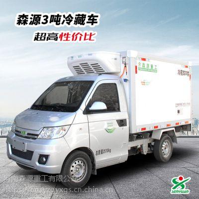 森源3吨电动冷藏车,3吨冷藏车,轻型电动汽车